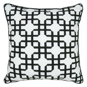 Rizzy Home Geometric Printed Throw Pillow
