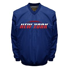 Big & Tall Franchise Club Tone City New York Football Windshell Pullover Jacket