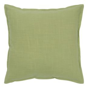 Rizzy Home Solid Flange II Throw Pillow