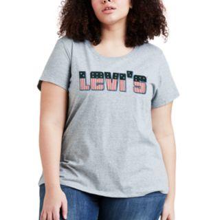 Plus Size Levi's Logo Tee