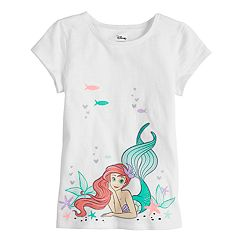 Disney's Ariel Girls 4-10 Graphic Tee by Disney/Jumping Beans®