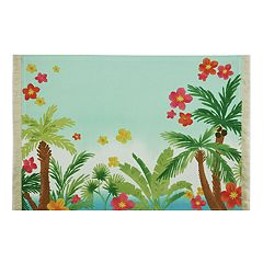 Celebrate Summer Together Palm Tree Placemat