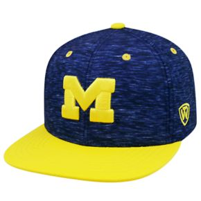 Youth Top of the World Michigan Wolverines Energy Snapback Cap