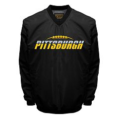 Men's Franchise Club Tone City Pittsburgh Football Windshell Pullover Jacket