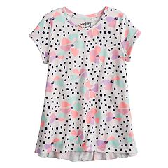 Girls 4-10 Jumping Beans® Ruffled Back Top