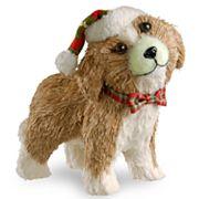 National Tree Company Dog Table Christmas Decor