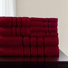 Portsmouth Home 8-piece Plush Bath Towel Set
