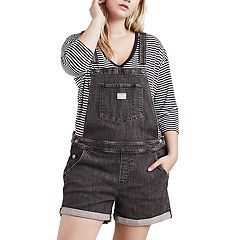 Plus Size Levi's Denim Shortalls