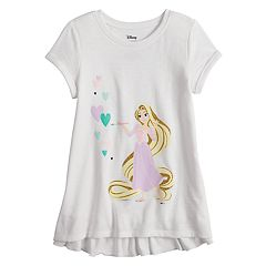 Disney's Rapunzel Girls 4-10 Ruffle Back Graphic Tee by Disney/Jumping Beans®