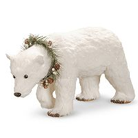 National Tree Company Polar Bear Table Christmas Decor