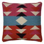 Rizzy Home Southwestern Geometric Woven Throw Pillow