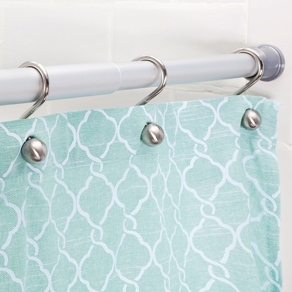 Kenney Twist & Fit Rust-Proof Aluminum Shower Curtain Rod