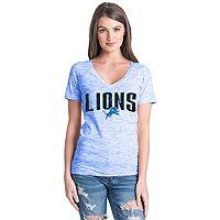 Women's Detroit Lions Triblend Tee