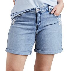 Plus Size Levi's Cuffed Denim Shorts