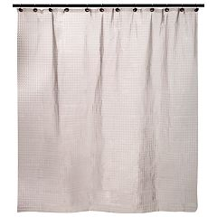 Kenney Embossed PEVA Shower Curtain Liner