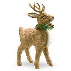 National Tree Company 19-in. Standing Deer Floor Christmas Decor