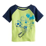 Baby Boy Disney Mickey Mouse Raglan Tee