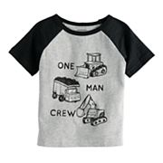 Baby Boy Jumping Beans® 'One Man Crew' Tee