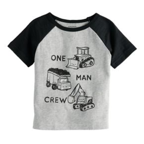 "Baby Boy Jumping Beans® ""One Man Crew"" Tee"