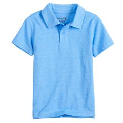 Toddler Boy Jumping Beans® Heathered Polo