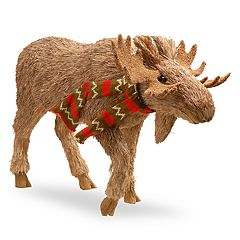 National Tree Company 18 in Standing Moose Floor Decor