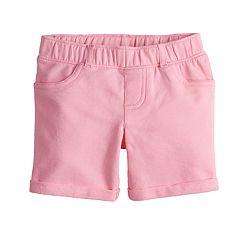 Girls 4-10 Jumping Beans® Solid French Terry Jegging Midi Shorts