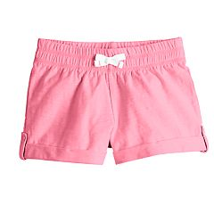 Girls 4-10 Jumping Beans® Roll-Cuff Slubbed Shorts