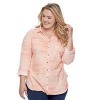 Plus Size SONOMA Goods for Life™ Tunic Shirt