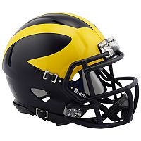 Riddell NCAA Michigan Wolverines Speed Mini Replica Helmet