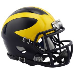 Riddell NCAA Michigan Wolverines Speed Mini Replica Helmet