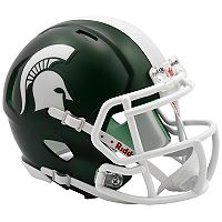 Riddell NCAA Michigan State Spartans Speed Mini Replica Helmet