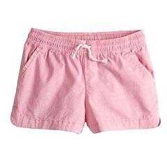 Toddler Girl Jumping Beans® Woven Dolphin Shortie Shorts