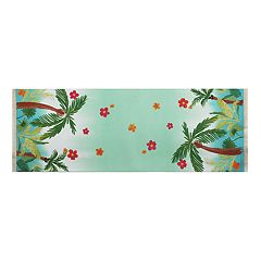 Celebrate Summer Together Palm Tree Table Runner - 36'