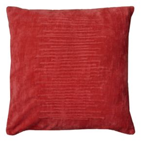 Rizzy Home Horizontal Raised Lines Corded Throw Pillow