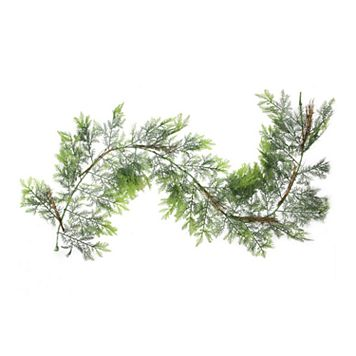 Northlight 6-ft. Two-Tone Cedar Artificial Christmas Garland