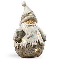 National Tree Company 18-in. Light-Up Santa Floor Christmas Decor