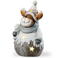 National Tree Company 20-in. Light-Up Moose Floor Christmas Decor