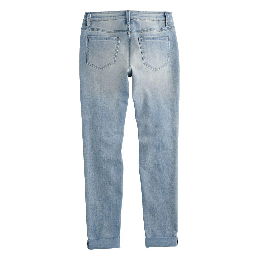 Girls 7-16 & Plus Size SO® Girlfriend Skinny Jeans