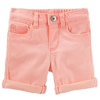 Toddler Girl OshKosh B'gosh® Cuffed Bermuda Shorts