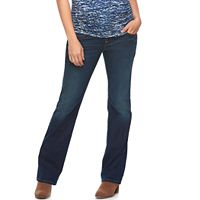 Maternity a:glow Full Belly Panel Bootcut Jeans