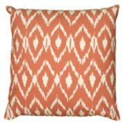 Rizzy Home Fractured Ikat Print Throw Pillow