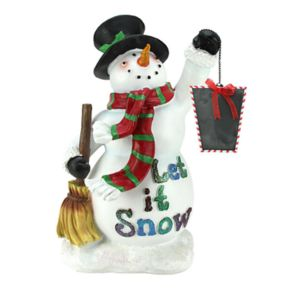 Northlight 18-in. Snowman Chalkboard Countdown Christmas Decor