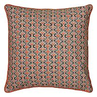 Rizzy Home Laura Fair Stripe Print Corded Throw Pillow