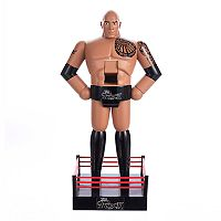 WWE The Rock Nutcracker Christmas Table Decor by Kurt Adler