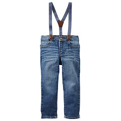 Toddler Boy OshKosh B'gosh® Jeans with Suspenders