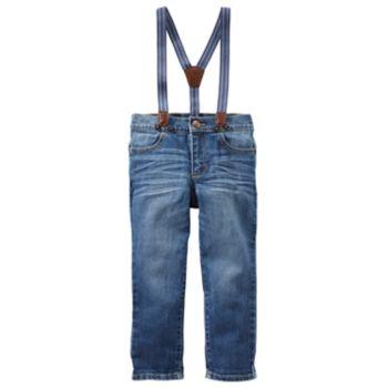 Toddler Boy OshKosh B'gosh® Jeans with Suspenders
