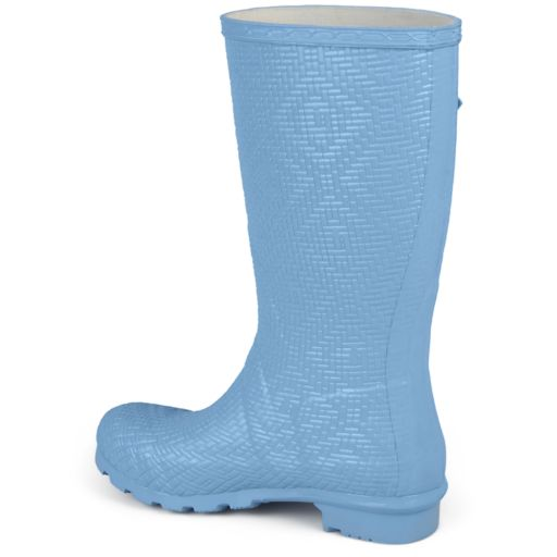 Journee Collection Drizl Women's Water Resistant Rain Boots