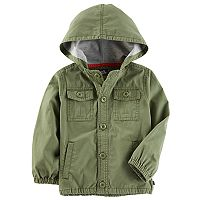 Toddler Boy OshKosh B'gosh® Olive Utility Jacket