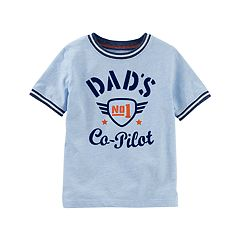 Toddler Boy OshKosh B'gosh® 'Dad's Co-Pilot' Graphic Tee