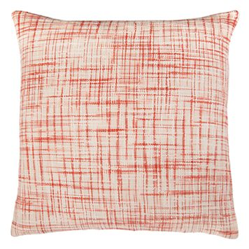 Rizzy Home Heathered Woven Textured Throw Pillow